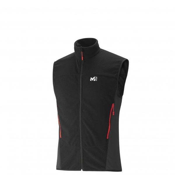 MILLET Men VECTOR GRID VEST Black Outlet Online