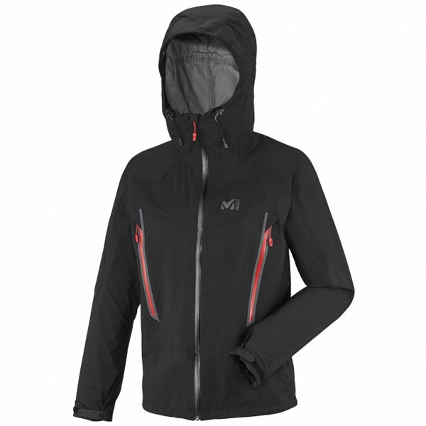 MILLET Men LES DRUS DRYEDGE 3L JKT Black Outlet Online