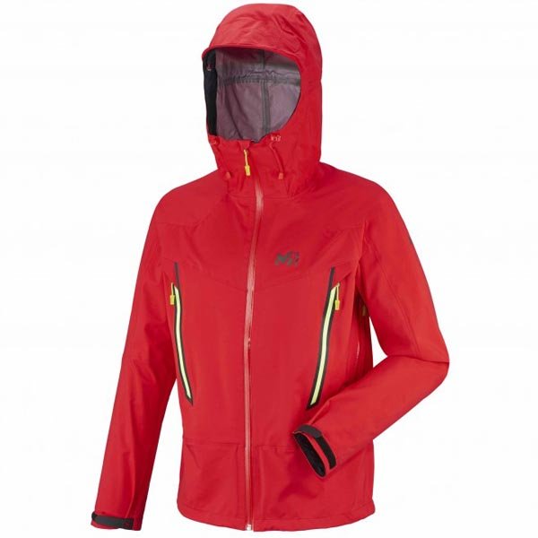 MILLET Men LES DRUS DRYEDGE 3L JKT Red Outlet Online