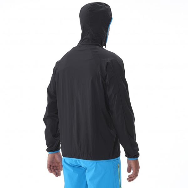 MILLET Men LTK AIRSTRETCH HOODIE Black Outlet Online