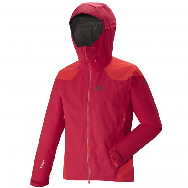 MILLET Men DUAL ASCENT GTX JKT Red Outlet Online