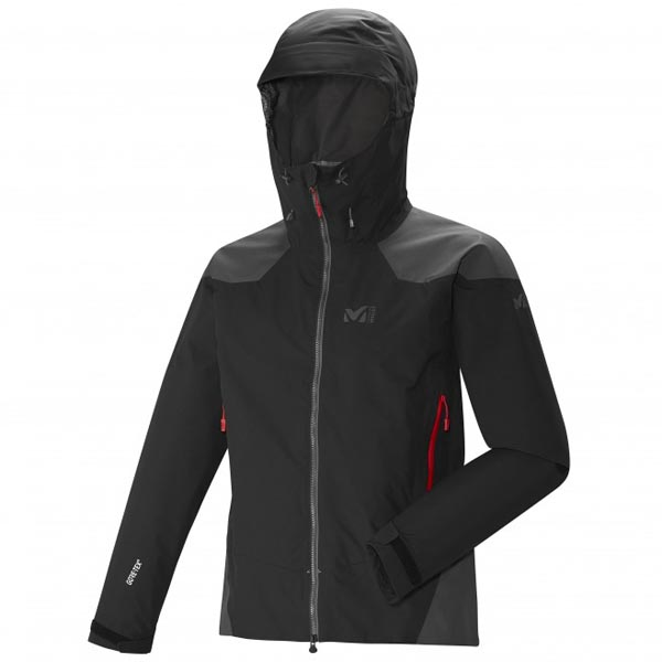 MILLET Men DUAL ASCENT GTX JKT Black Outlet Online
