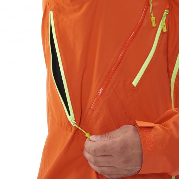 MILLET Men TRIDENT 2,5L STRETCH JKT Orange Outlet Online
