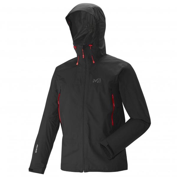 MILLET Men GRAYS PEAK GTX JKT Black Outlet Online
