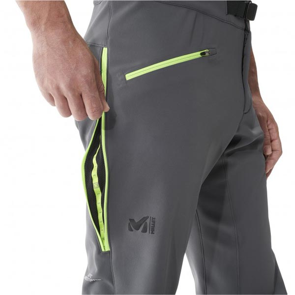 MILLET Men CHAMONIX NEEDLES WDS PANT GREY Outlet Online