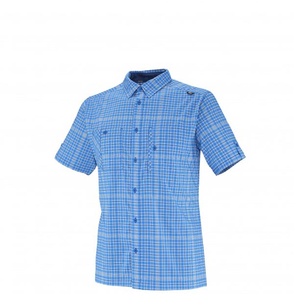 MILLET Men CASTLE PEAK STRETCH SS SHIRT Blue Outlet Online