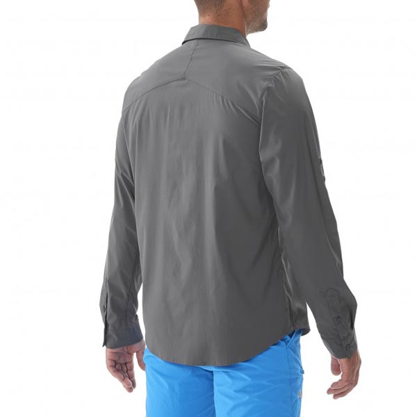 MILLET Men DEEP CREEK LS SHIRT Grey Outlet Online