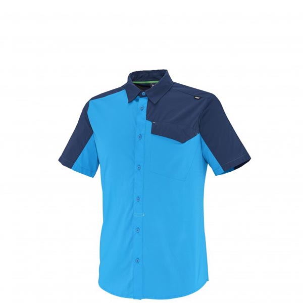 MILLET Men DEEP CREEK SS SHIRT Blue Outlet Online