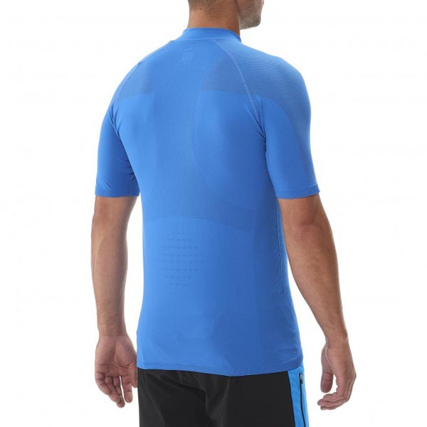 MILLET Men LTK SEAMLESS ZIP SS BLUE Outlet Online