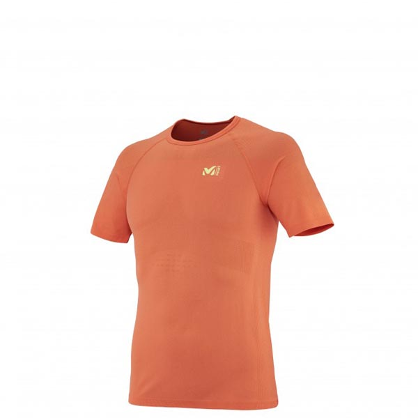 MILLET Men LTK SEAMLESS TS SS ORANGE Outlet Online