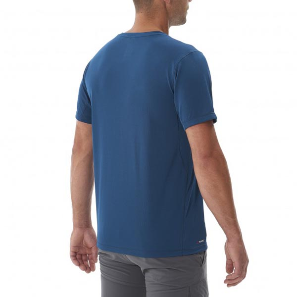 MILLET Men ALPINE TS SS BLUE Outlet Online