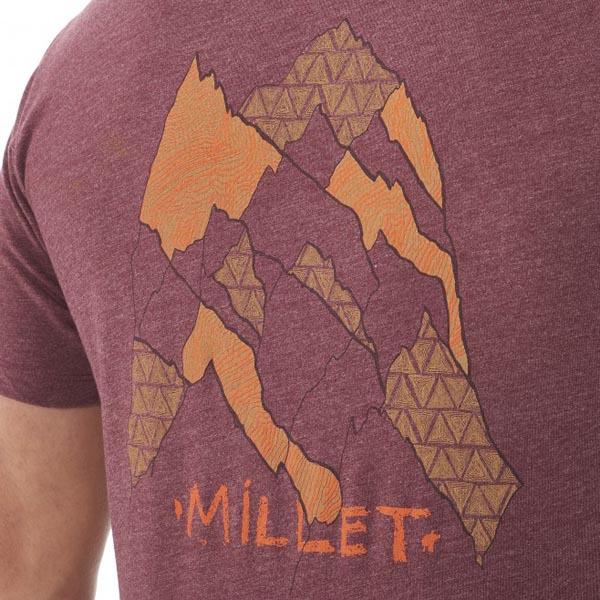 MILLET Men CAMP CATTA TS SS Brown Outlet Online