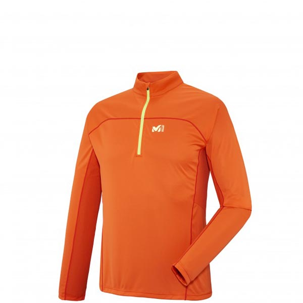MILLET Men LTK INTENSE ZIP LS ORANGE Outlet Online