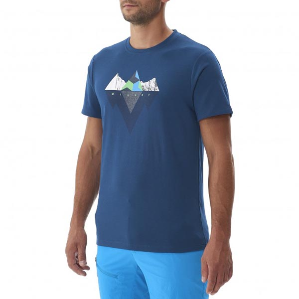 MILLET Men ROCKIES TS SS BLUE Outlet Online