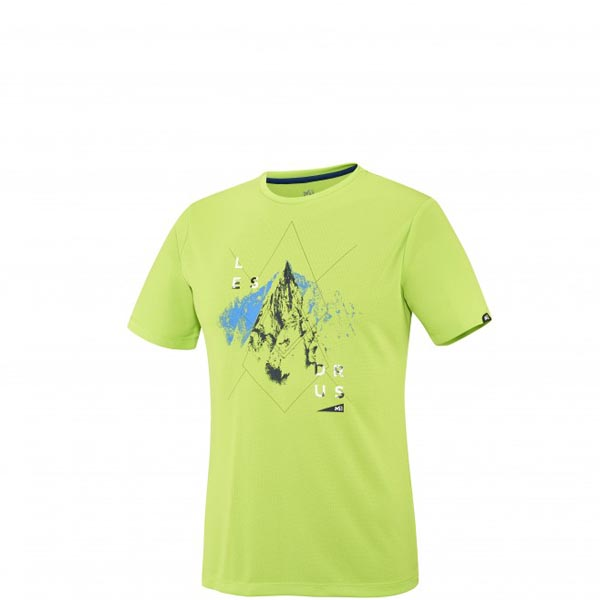 MILLET Men LES DRUS TS SS GREEN Outlet Online