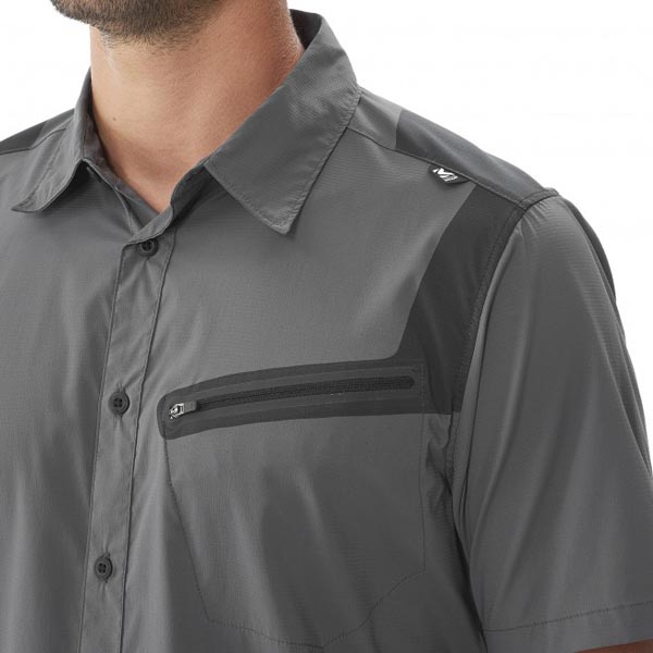 MILLET Men CLARK PEAK TECH SS SHIRT GREY Outlet Online