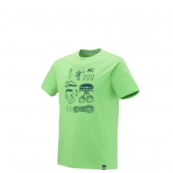 MILLET Men CLIMBING TOOLS TS SS GREEN Outlet Online