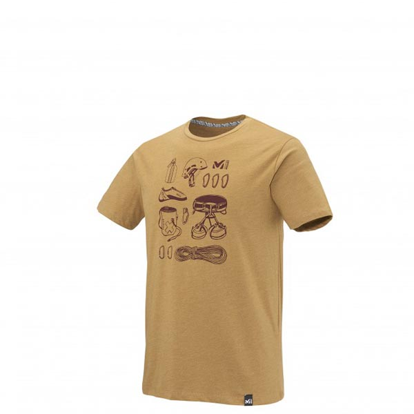 MILLET Men CLIMBING TOOLS TS SS CAMEL Outlet Online