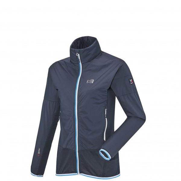 MILLET Women LD TECH STRETCH LIGHT HOODIE Blue Outlet Online