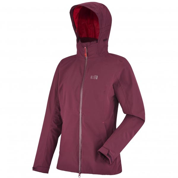MILLET Women LD HIGHLAND 2L JKT RED Outlet Online