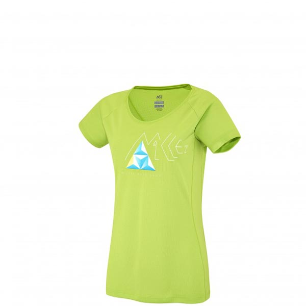 MILLET Women LD POWER BASE CAMP TS SS Green Outlet Online
