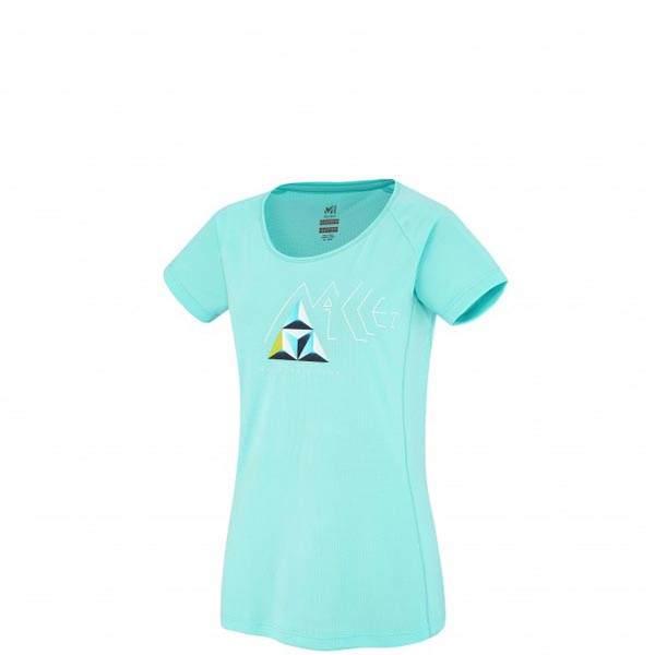 MILLET Women LD POWER BASE CAMP TS SS Blue Outlet Online