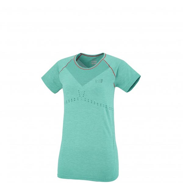 MILLET Women LD SEAMLESS MOTION TS Green Outlet Online