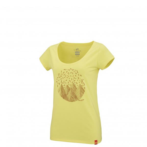 MILLET Women LD CAMP CATTA TS SS Yellow Outlet Online