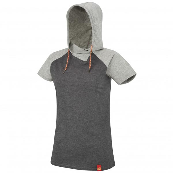 MILLET Women LD MADA ROC HOODIE SS Grey Outlet Online