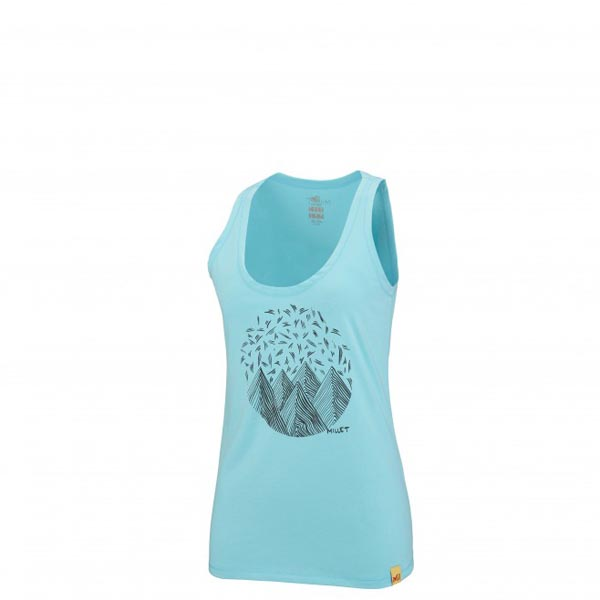 MILLET Women LD CAMP CATTA TANK Blue Outlet Online
