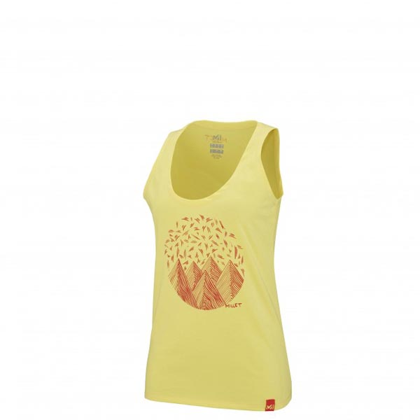 MILLET Women LD CAMP CATTA TANK Yellow Outlet Online