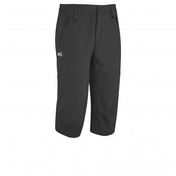 MILLET Trekking - Men's 3/4 pant - Black On Sale