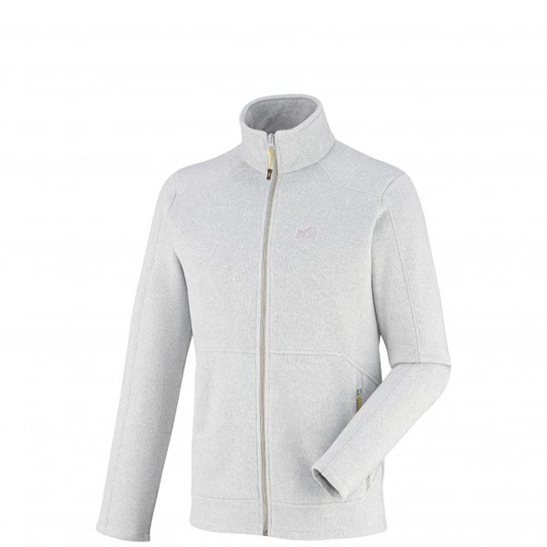 Men MILLET HICKORY FLEECE JKT White Outlet Store