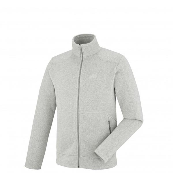 MILLET TREKKING - MEN\'S FLEECE JACKET - GREY On Sale
