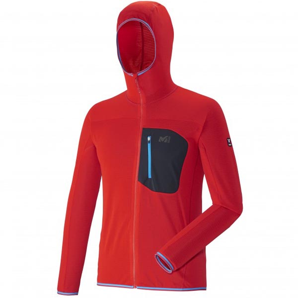 Cheap MILLET TRILOGY LIGHT HOODIE Men Red Online