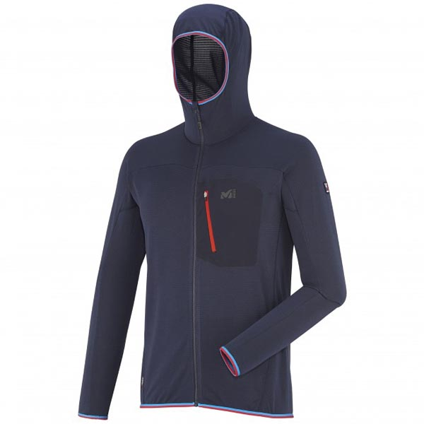 MILLET BLUE MOUNTAINEERING FLEECE JACKET FOR MEN On Sale