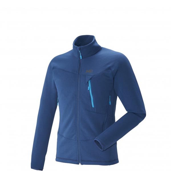Men MILLET GREPON POWER JKT Blue Outlet Store