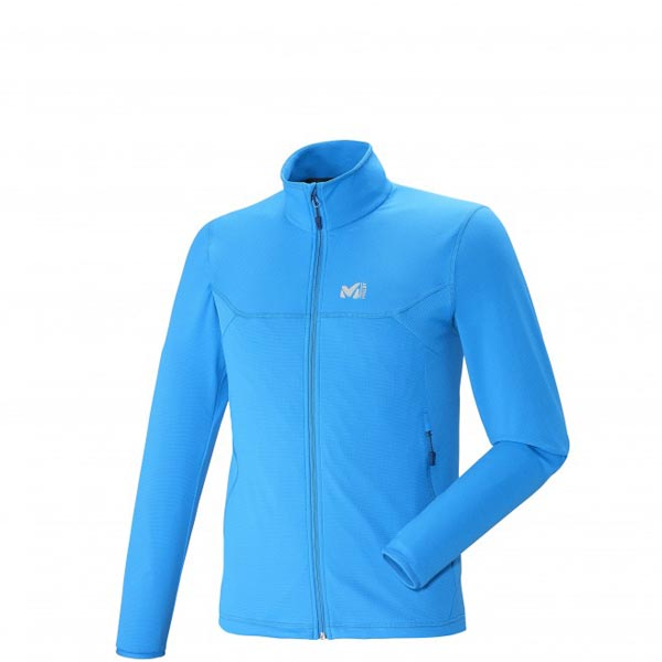 Men MILLET TECH STRECH LIGHT JKT Blue Outlet Store