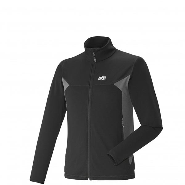MILLET MOUNTAINEERING - MEN'S FLEECE JACKET - BLACK On Sale