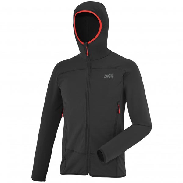 MILLET MEN'S BLACK TREKKING FLEECE On Sale