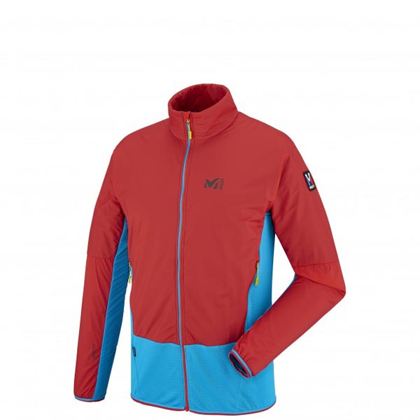 MILLET MOUNTAINEERING - MEN'S FLEECE JACKET - BLUE On Sale