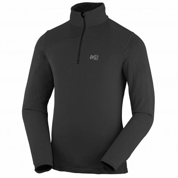 Men MILLET TECHNOSTRETCH PO Black Outlet Store