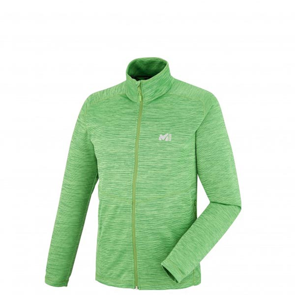 MILLET Trekking - Men\'s Fleece jacket - Green On Sale