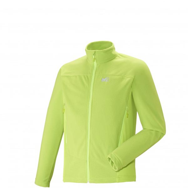 MILLET Trekking - Men's Fleece jacket - Green On Sale