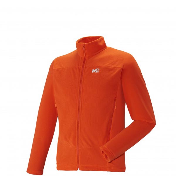 MILLET Trekking - Men\'s Fleece jacket - Orange On Sale