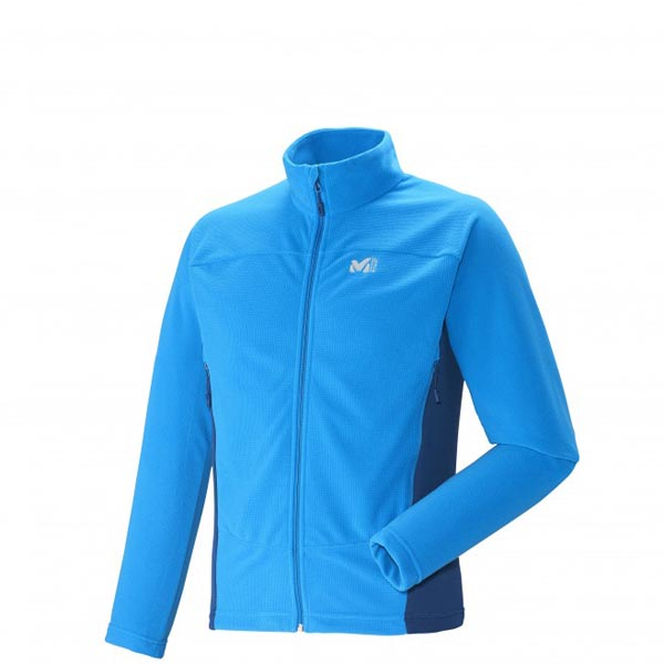 MILLET TREKKING - MEN'S FLEECE JACKET - BLUE On Sale