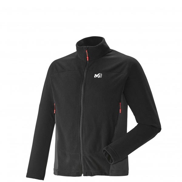 MILLET Trekking - Men's Fleece jacket - Black On Sale