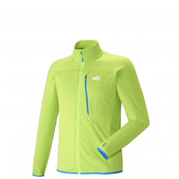 MILLET trail running - Men\'s Fleece jacket - Green On Sale