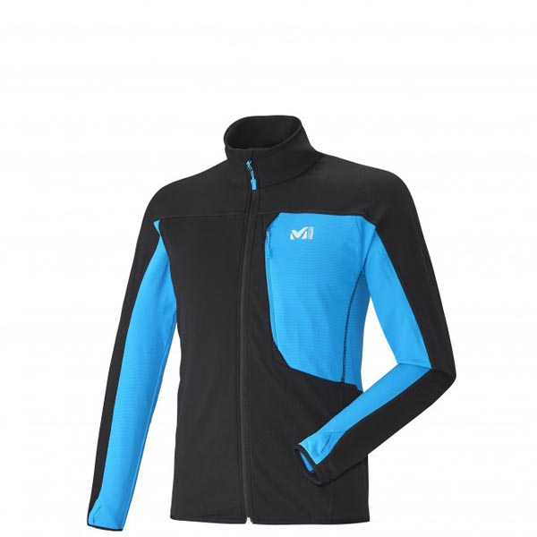 MILLET trail running - Men's Fleece jacket - Black On Sale