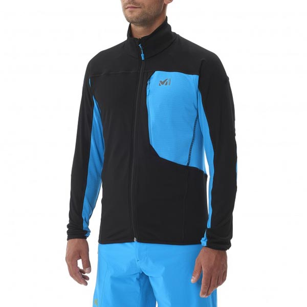 MILLET trail running - Men\'s Fleece jacket - Black On Sale